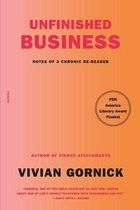 Boek cover Unfinished Business van Vivian Gornick (Onbekend)