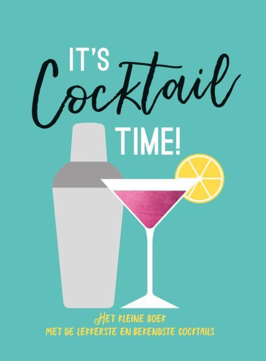 Cadeauboeken  -   It's cocktail time - Cadeauboeken