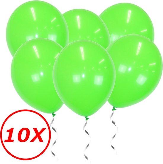 Licht Groene Ballonnen Verjaardag Versiering Groene Helium Ballonnen Feest Versiering Jungle Versiering - 10 Stuks