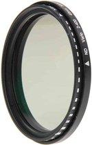 49 mm ND Fader verstelbaar variabel filter met neutrale dichtheid, ND 2 tot ND 400 filter