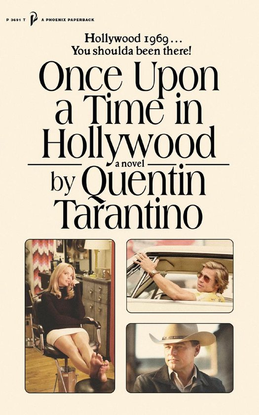 Boek cover Once Upon a Time in Hollywood van Quentin Tarantino (Onbekend)