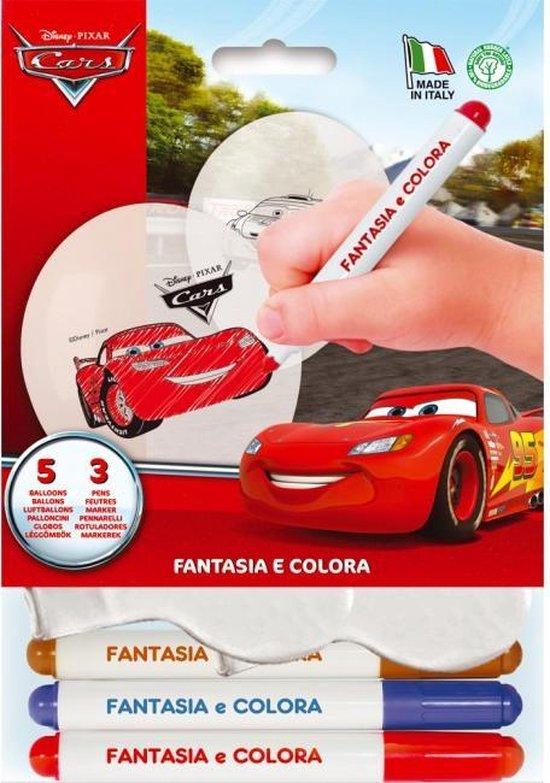 Procos Ballonnen Kleurset Cars Junior 28 Cm Latex 8-delig