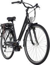 Adore Fiets (elektrisch) Pedelec e-bike dames trekkingfiets zwart - 50 cm