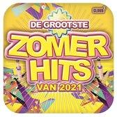 CD cover van De Grootste Zomerhits Van 2021 van De Grootste Zomerhits