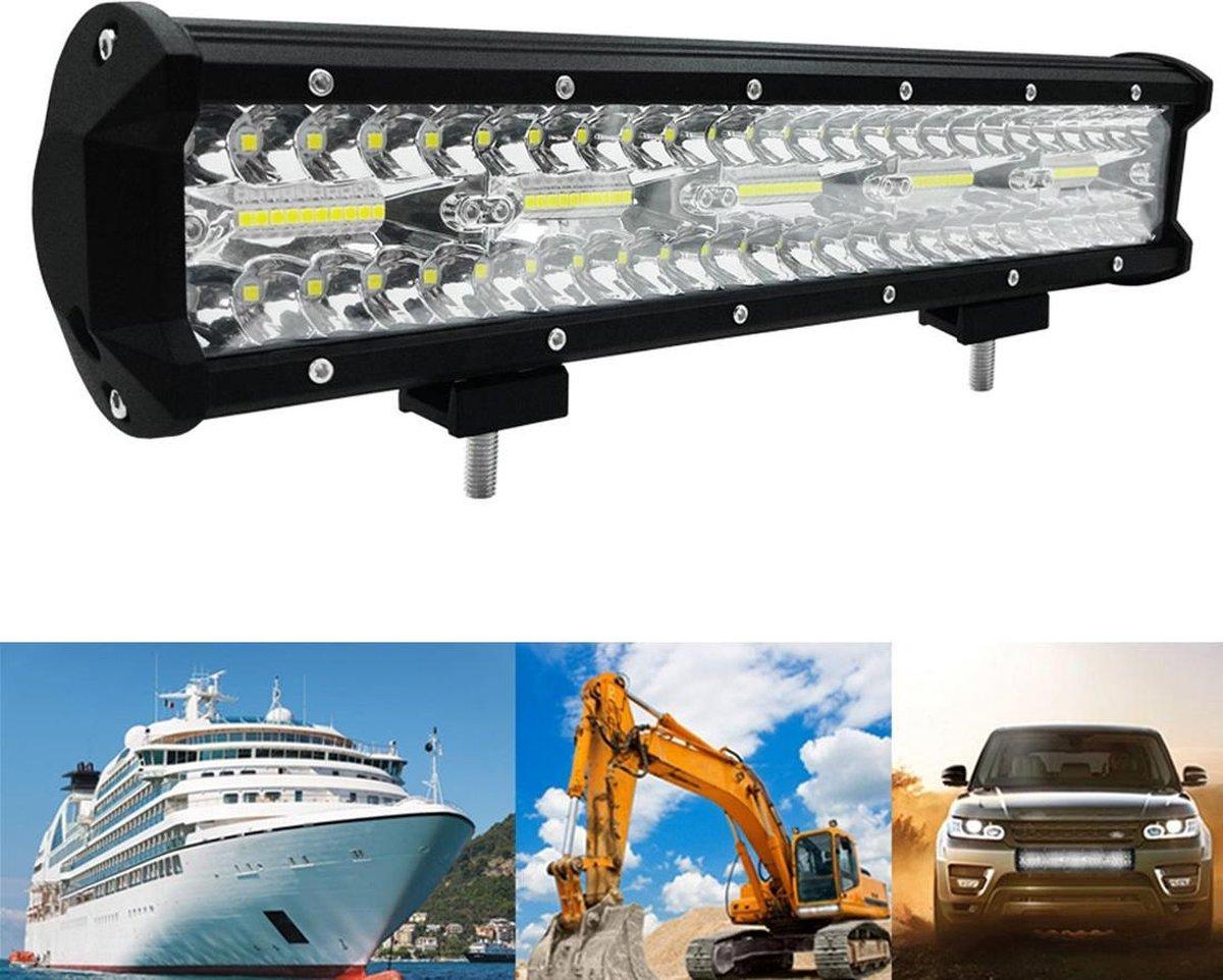15 inch 300 W 10000LM 6000 K LED Strip Werken Refit Off-road Voertuig Lamp Dak Strip Licht