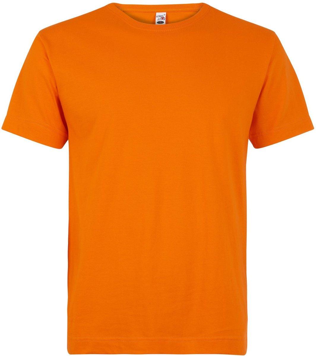 Oranje grote maten t-shirts 2xl Oranje
