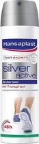 Hansaplast Silver Active Voetspray Anti - Transpiratie - 150 ml