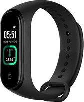 DrPhone K2 Pro - Kids Smartwatch - Temperatuurmeter + Bluetooth - Hartslagmeter - Stappenteller - Notificaties - IOS / Android - Zwart