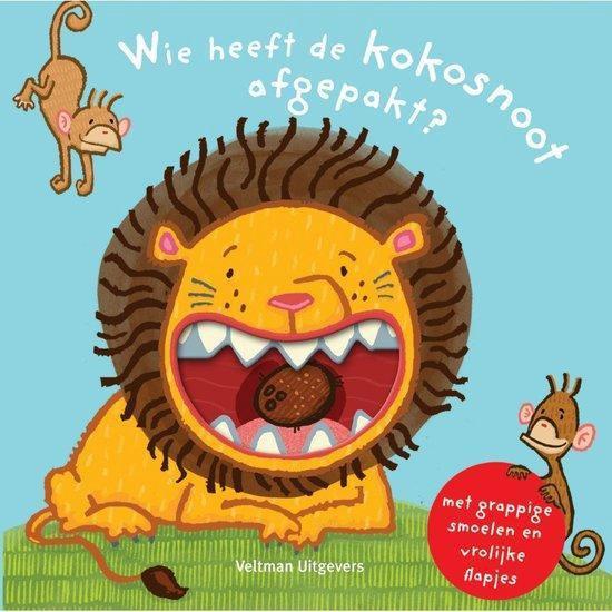 Boek cover Wie heeft de kokosnoot afgepakt? van Thorsten Saleina (Hardcover)