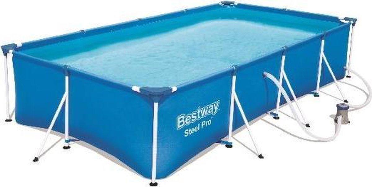 Bestway 4.0m x 2.11m x 81cm 5700L Fam. Splash Frame Pool +