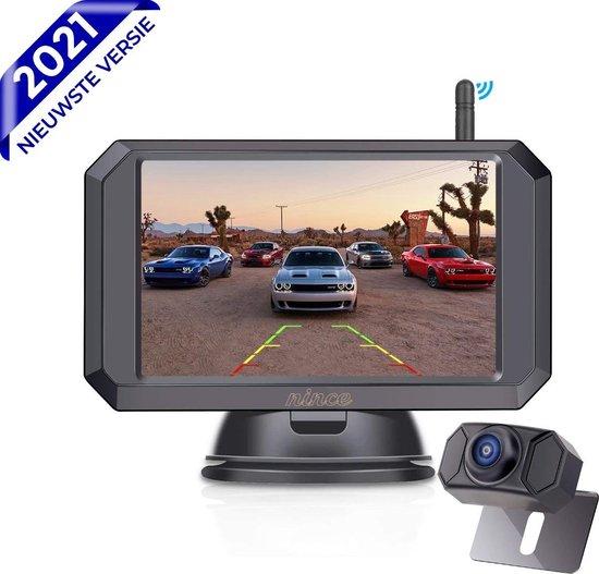 Nince ARC1 Draadloze Achteruitrijcamera Van Hoge Kwaliteit 2021 Model - 5 Inch Digitale Achteruit rijcamera met IR Nachtzicht - 2 Kanaals