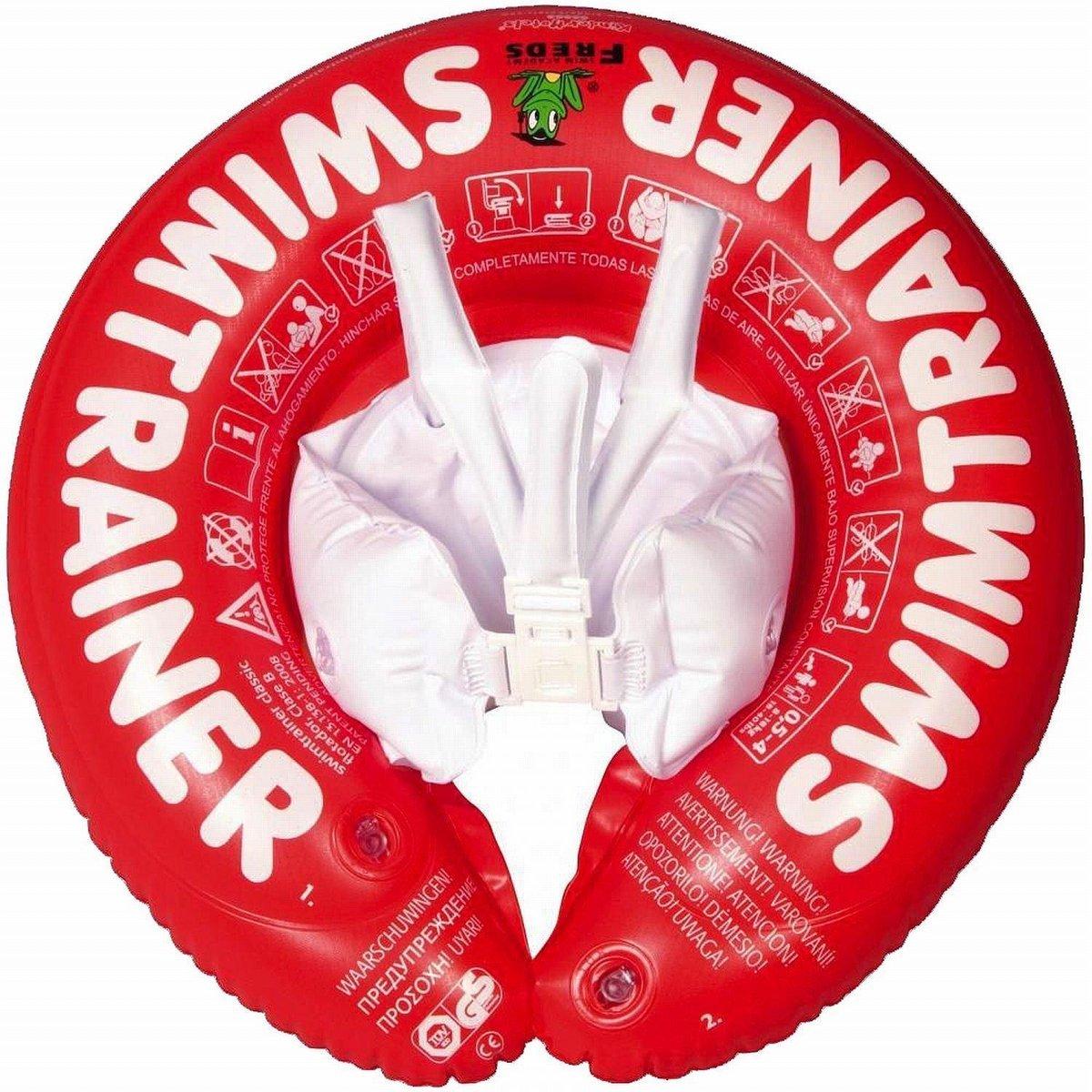 Freds Zwemtrainer - Rood - 6 tot 18 kg