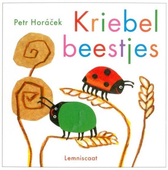Boek cover Kriebelbeestjes van Petr Horacek