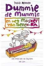 Omslag Dummie de mummie 4 -   Dummie de mummie en het masker van Sebek-Ra