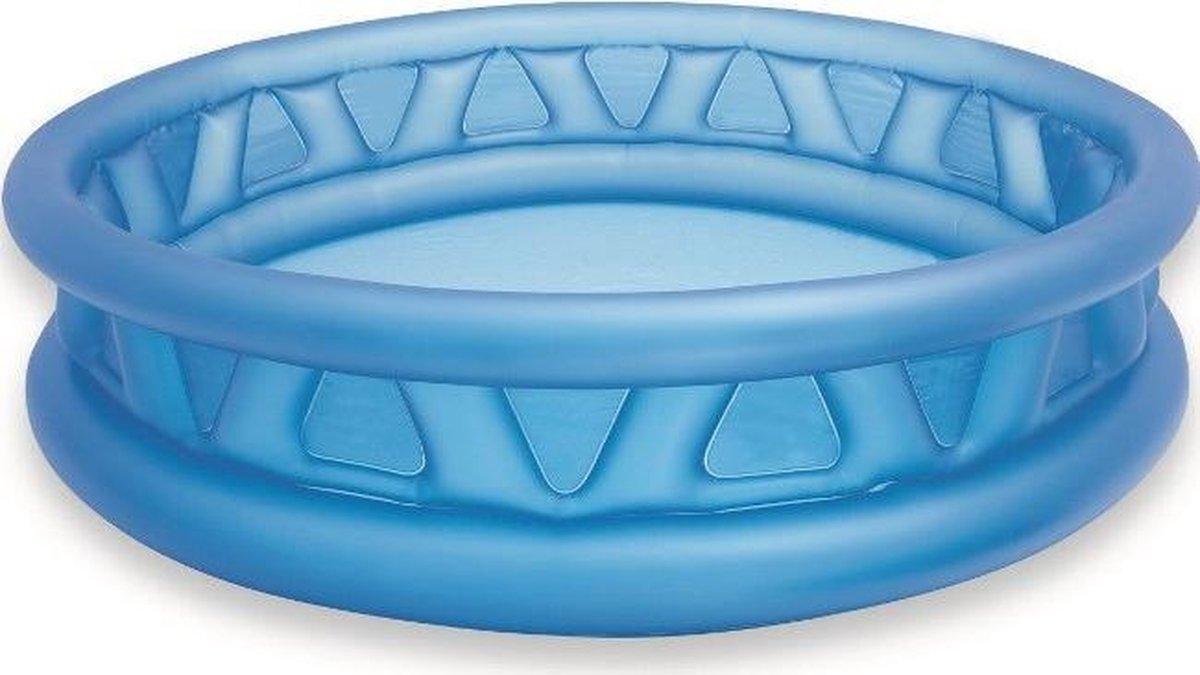 Opblaasbaar zwembad met dunne zijkant
