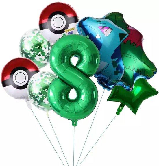 Pokemon bulbasaur  Ballon Droom Thema Party Decoratie Bulbasaur Verjaardagsfeestje Pocket Ballon Gift nummer 8