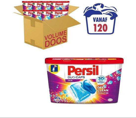 Persil Duo-Caps Color Wascapsules - Wasmiddel Capsules - Voordeelverpakking - 8 x 15 wasbeurten
