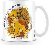 DISNEY - Mug - 300 ml - Lion King - Just Can't Wait to be King