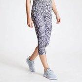 Dare 2b - Kate Ferdinand Influential 3/4 Length Leggings - Outdoorbroek - Vrouwen - Maat 34 - Wit