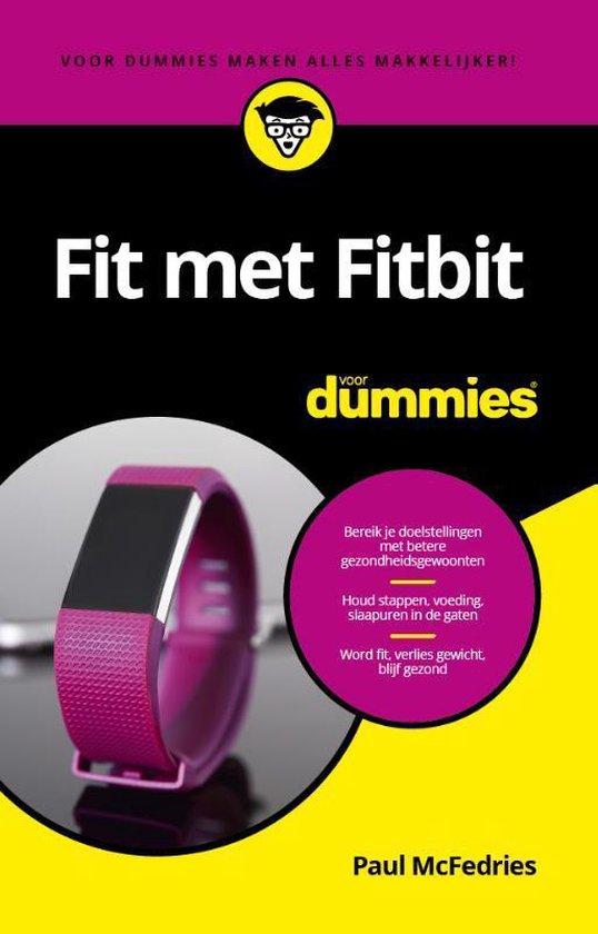 Fit met Fitbit voor Dummies - Paul Mcfedries | Readingchampions.org.uk