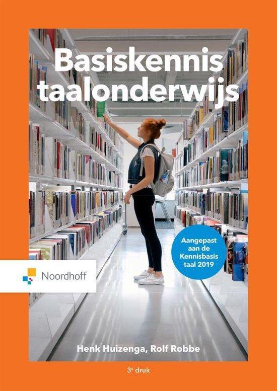 Boek cover Basiskennis taalonderwijs van Henk Huizenga (Paperback)
