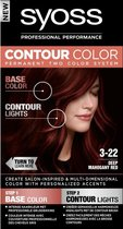 SYOSS Contour Color 3-22 Deep Mahony Red - 1 stuk