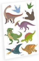 Amscan Plaktattoos Dinosaurus Jongens 9 Stuks