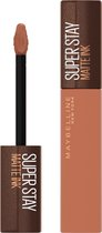 Maybelline SuperStay Matte Ink Lipstick Coffee Collection Limited Edition - 255 Chai Genius - Nude Lippenstift - 5 ml