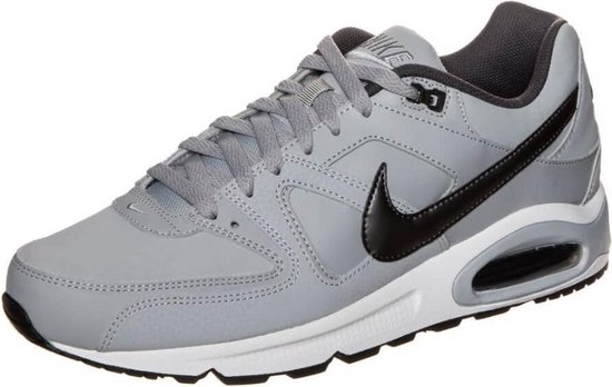 Nike Air Max Command Leather Heren Sneakers - Wolf Grey/Black - Maat 42.5