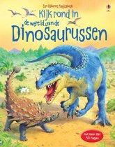 Kijk rond in de wereld van de dinosaurussen