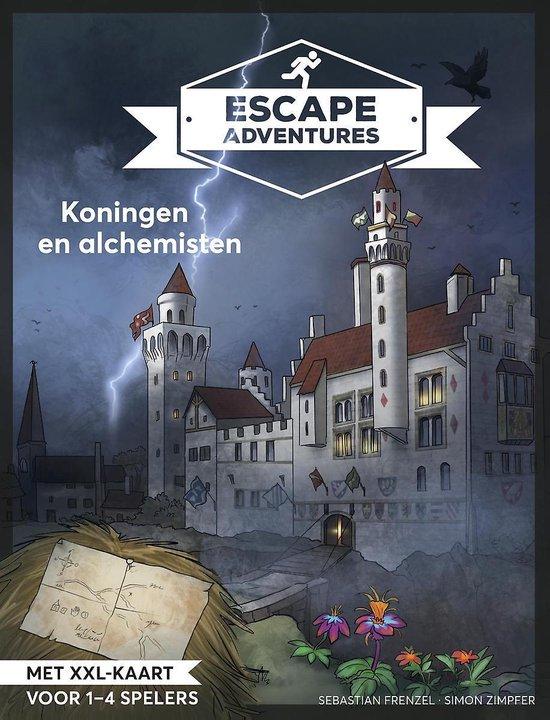 Escape adventures: Koningen en Alchemisten - Sebastian Frenzel  