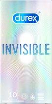 Durex Invisible Extra Dun Condooms  - 10 stuks