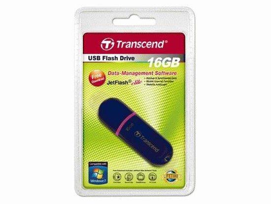 Transcend JetFlash 300 - USB-stick - 16 GB - Transcend