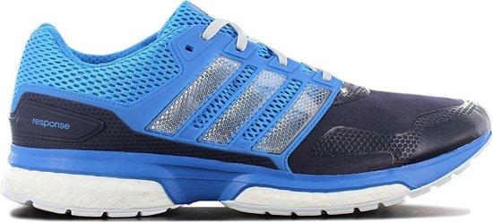 adidas Response 2 Techfit M Boost - Heren Hardloopschoenen Running Schoenen  Blauw S79362 - Maat EU 53 1/3 UK 17