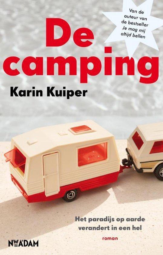 Boek cover De Camping van Karin Kuiper (Paperback)