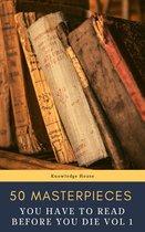 Boek cover 50 Masterpieces you have to read before you die vol: 1 van Louisa May Alcott
