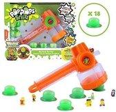 Pop Pops Snotz Slime Slammer Hammer 18 stuks - Slijm - Groen | Oranje
