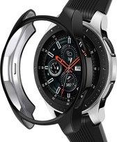 Samsung Galaxy Watch silicone case 46mm - zwart