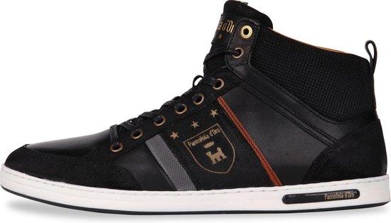 Pantofola d'Oro - Heren Sneakers Mondovi Uomo Mid Black - Zwart - Maat 41