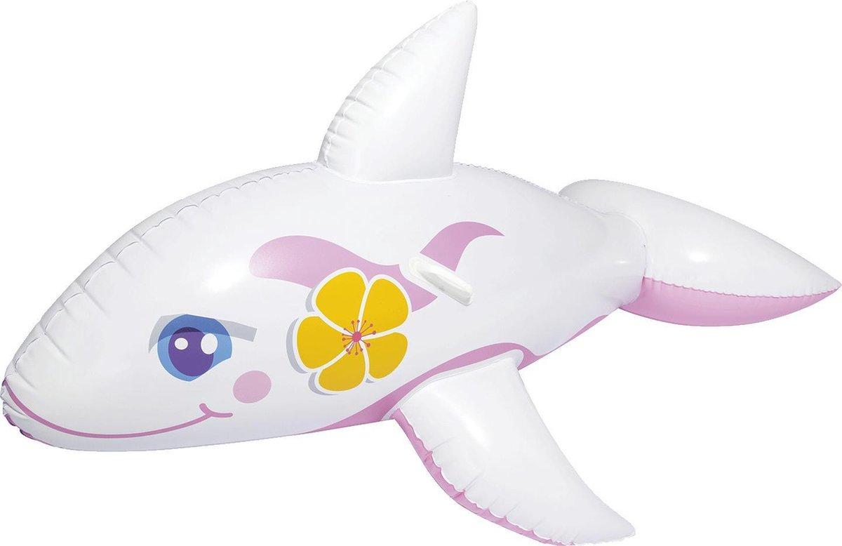Opblaas dolfijn | wit