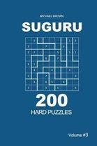 Suguru - 200 Hard Puzzles 9x9 (Volume 3)