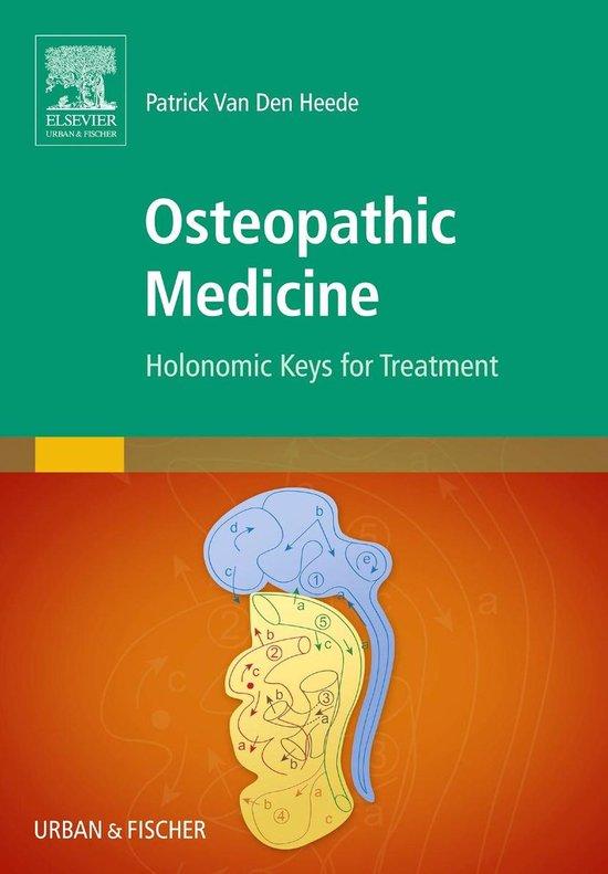 Boek cover Osteopathic Medicine van Patrick Van Den Heede (Hardcover)