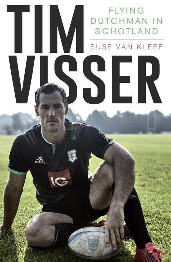 Boek cover Tim Visser van Suse van Kleef