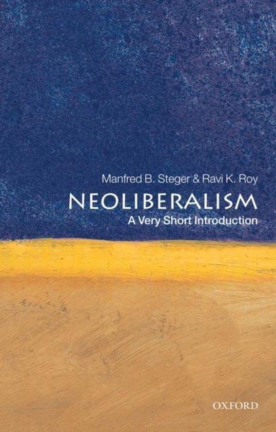 Boek cover Neoliberalism van Manfred B. Steger (Paperback)