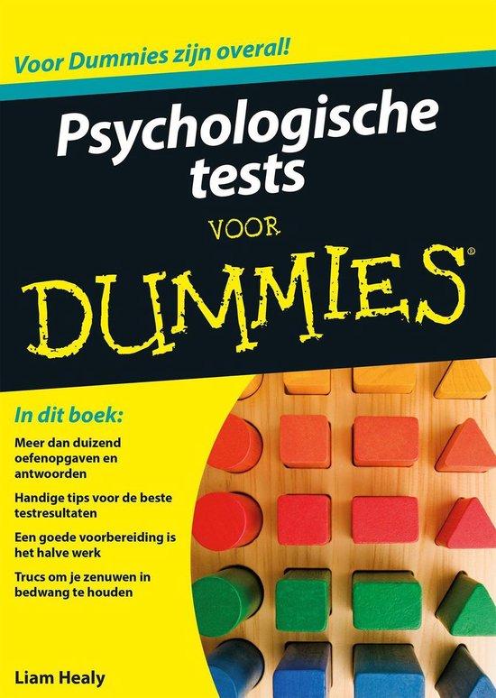 Voor Dummies - Psychologische tests voor Dummies - Liam Healy | Readingchampions.org.uk