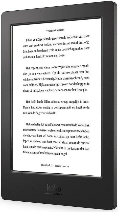 Kobo Aura H2O - Zwart - e-reader