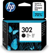 HP 302 - Inktcartridges / Zwart