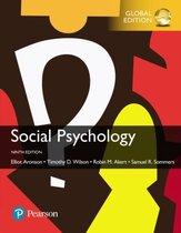 Boekomslag van 'Social Psychology, Global Edition'