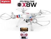 Syma X8W -Live HD Camera via smartphone en tablet voor IOS & Android