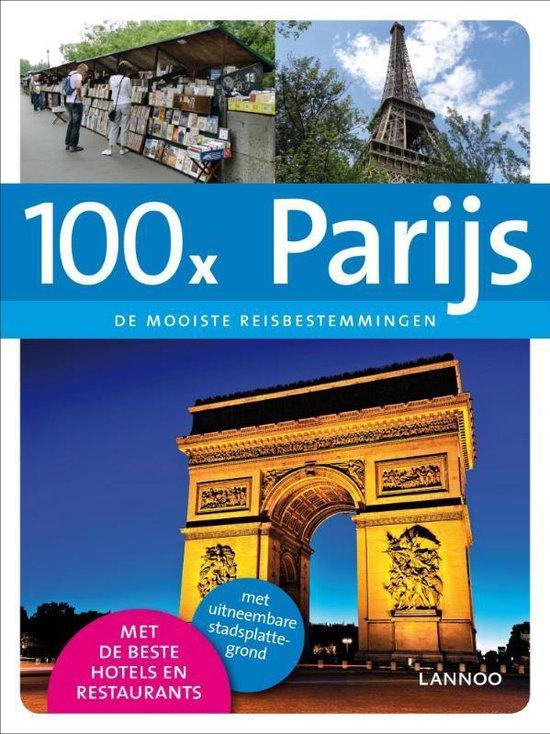 Cover van het boek '100x Parijs' van Chris Rachel Spatz